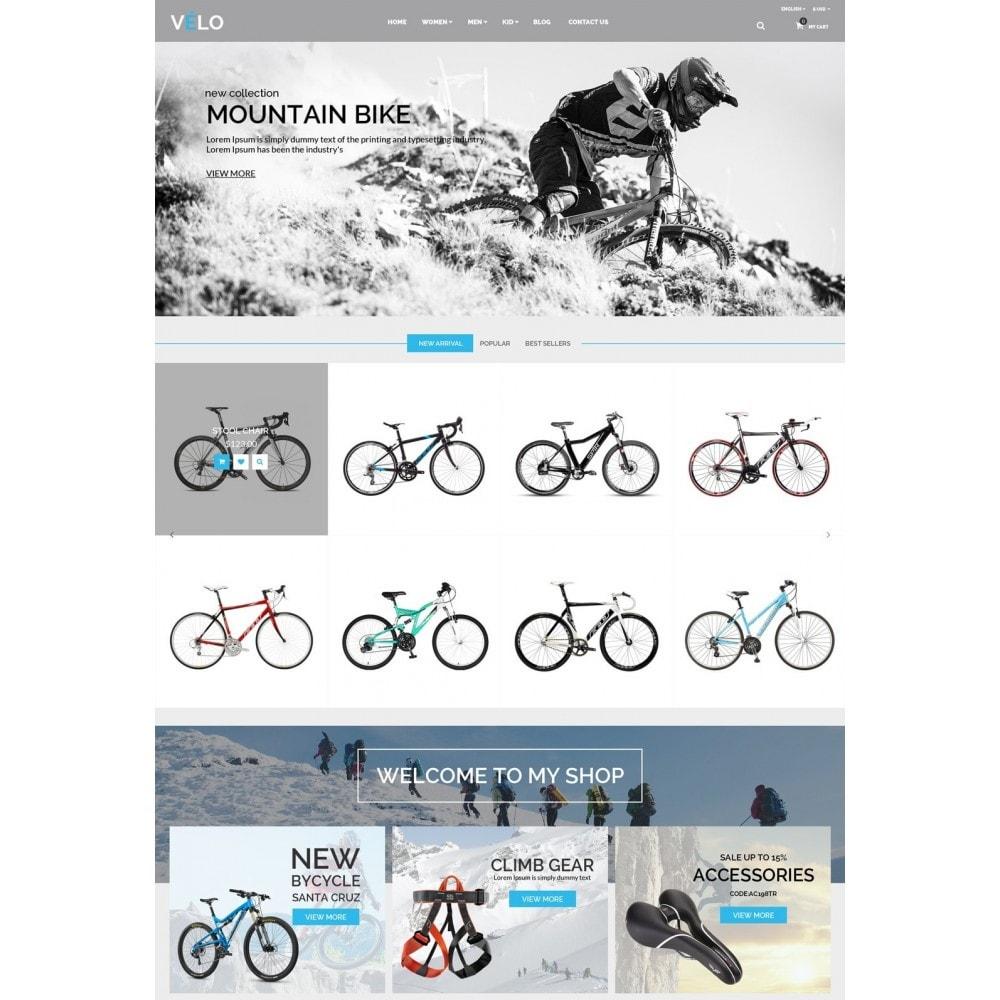 theme - Sports, Activities & Travel - VeLo Bike Sport Store - 2