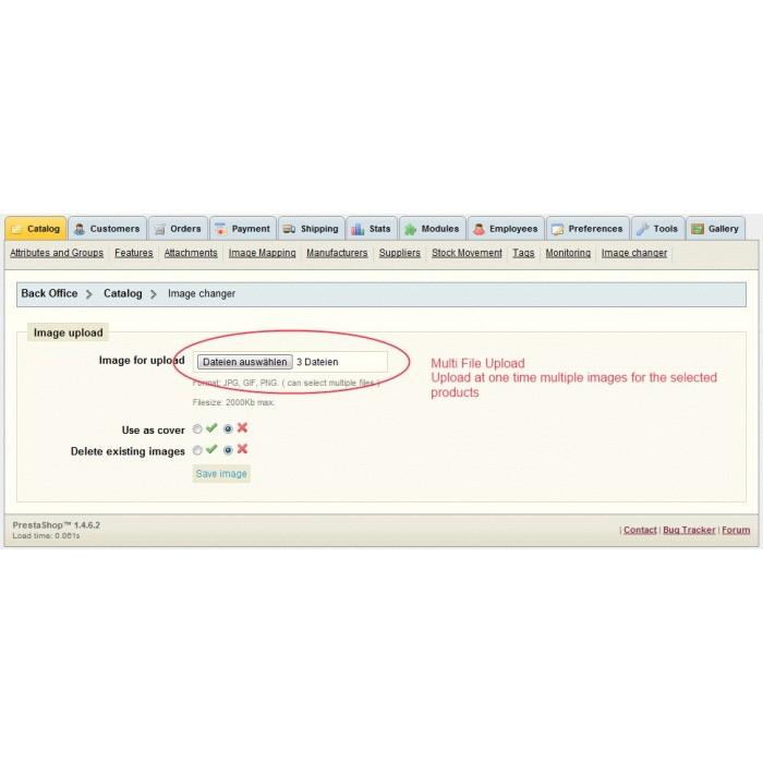 module - Szybkie & Masowe edytowanie - Multi Image Changer / Uploader - 4