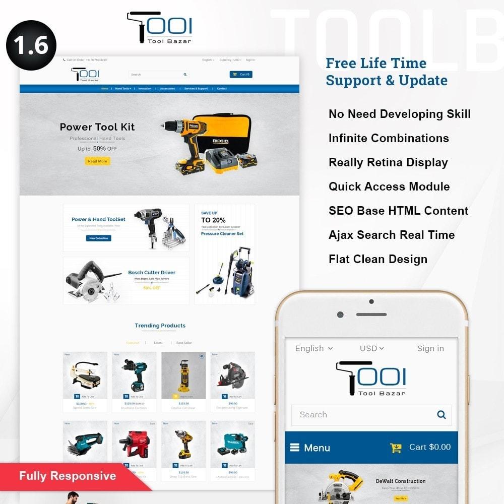 theme - Авто и Мото - Tools Shop - 1