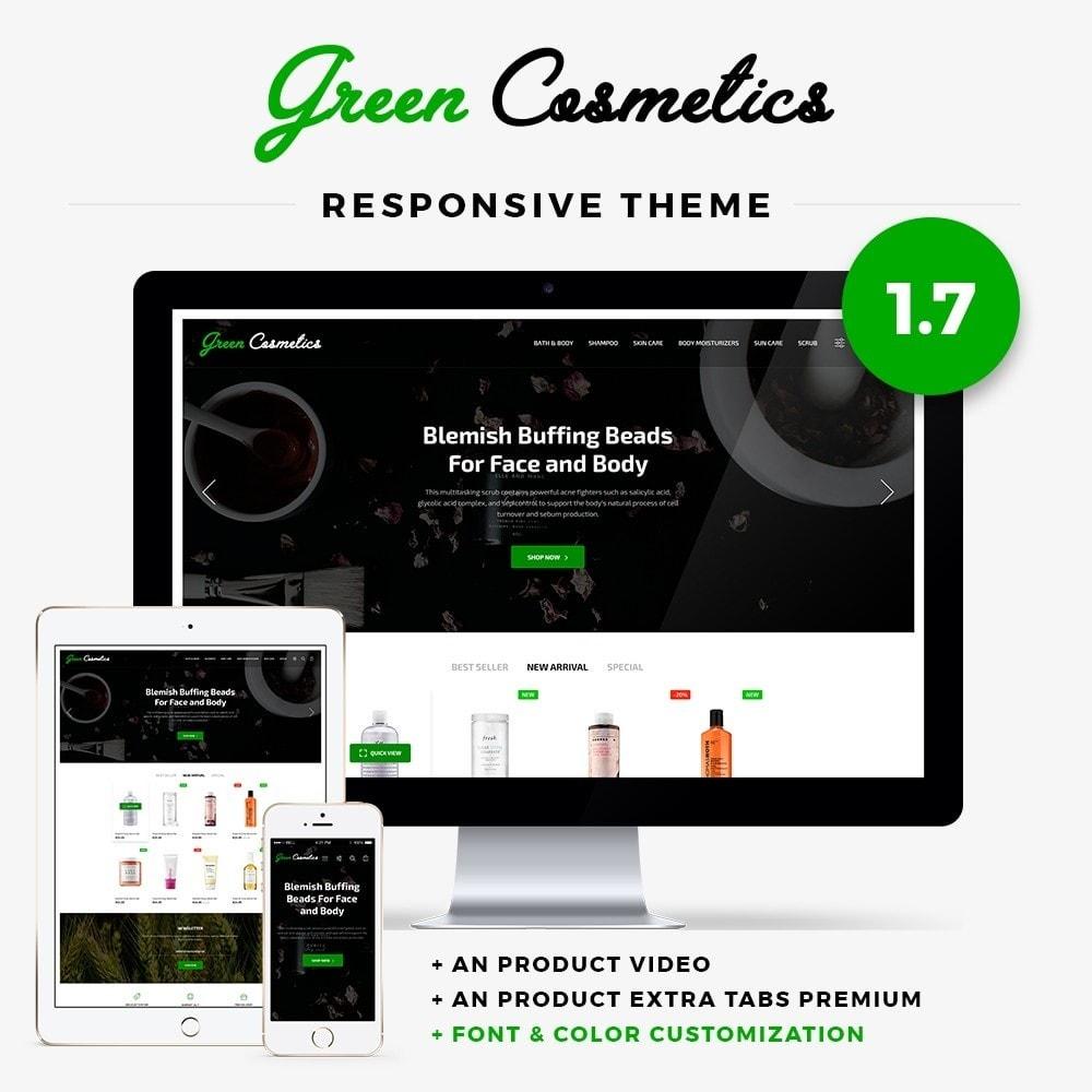 theme - Zdrowie & Uroda - Green Cosmetics - 1