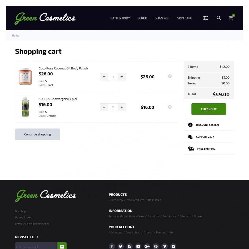 theme - Zdrowie & Uroda - Green Cosmetics - 7