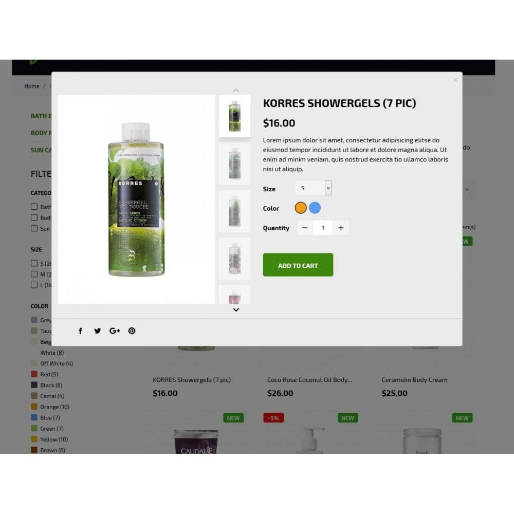 theme - Zdrowie & Uroda - Green Cosmetics - 9