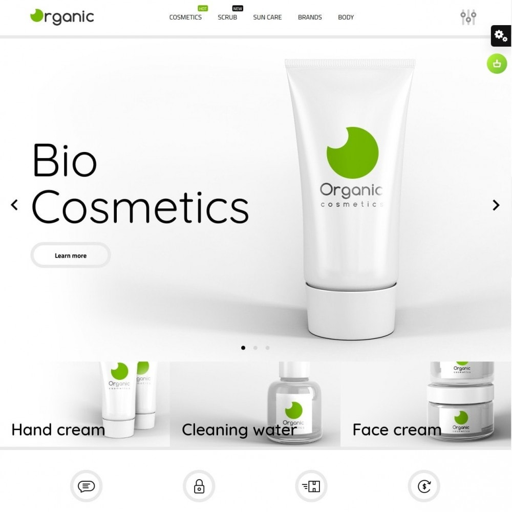theme - Gesundheit & Schönheit - Organic Cosmetics - 2
