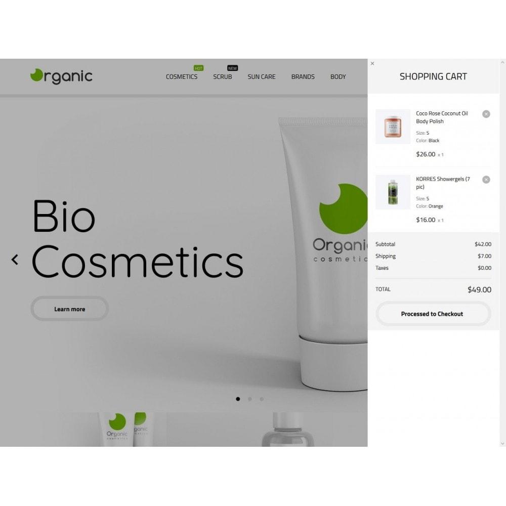 theme - Salud y Belleza - Organic Cosmetics - 3