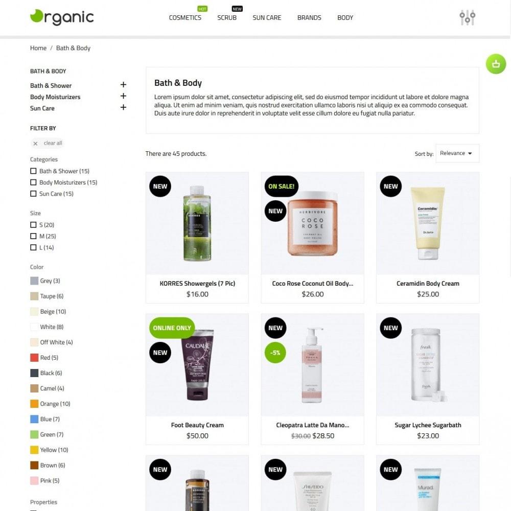 theme - Salute & Bellezza - Organic Cosmetics - 6