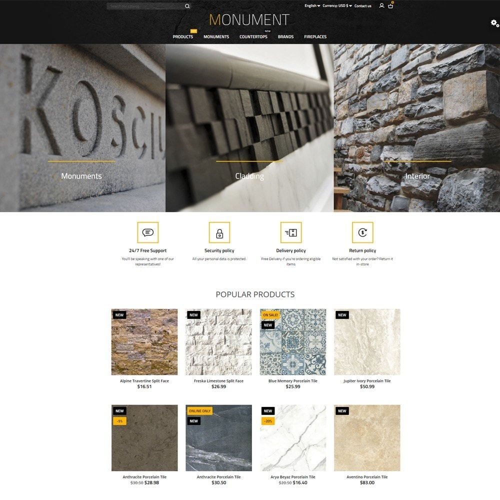 theme - Arte e Cultura - Monument - 2