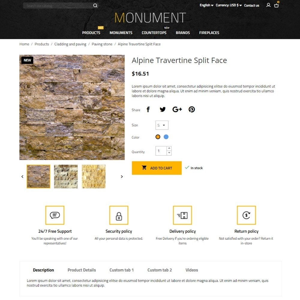 theme - Arte e Cultura - Monument - 5
