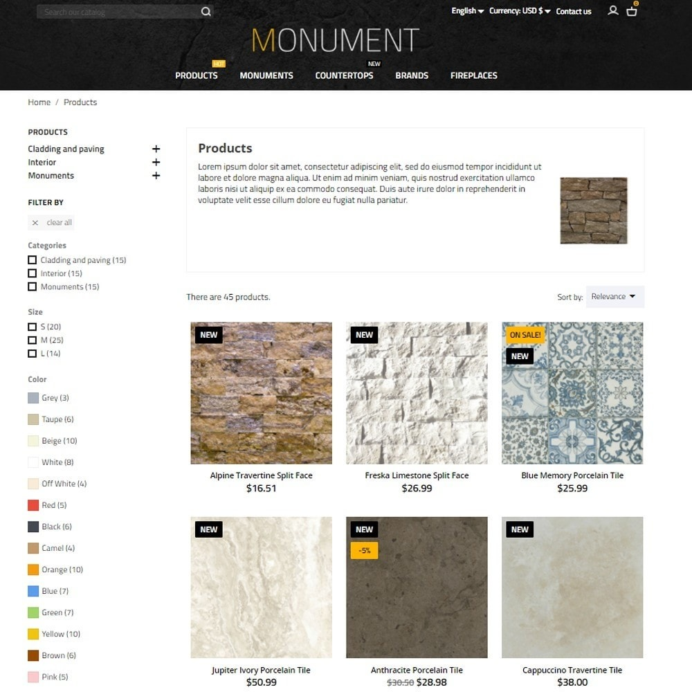 theme - Arte e Cultura - Monument - 6