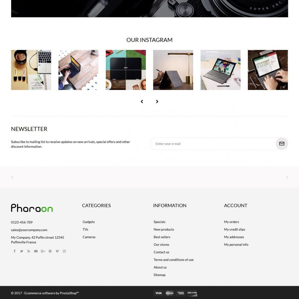 theme - Elektronica & High Tech - Pharaon - High-tech Shop - 4