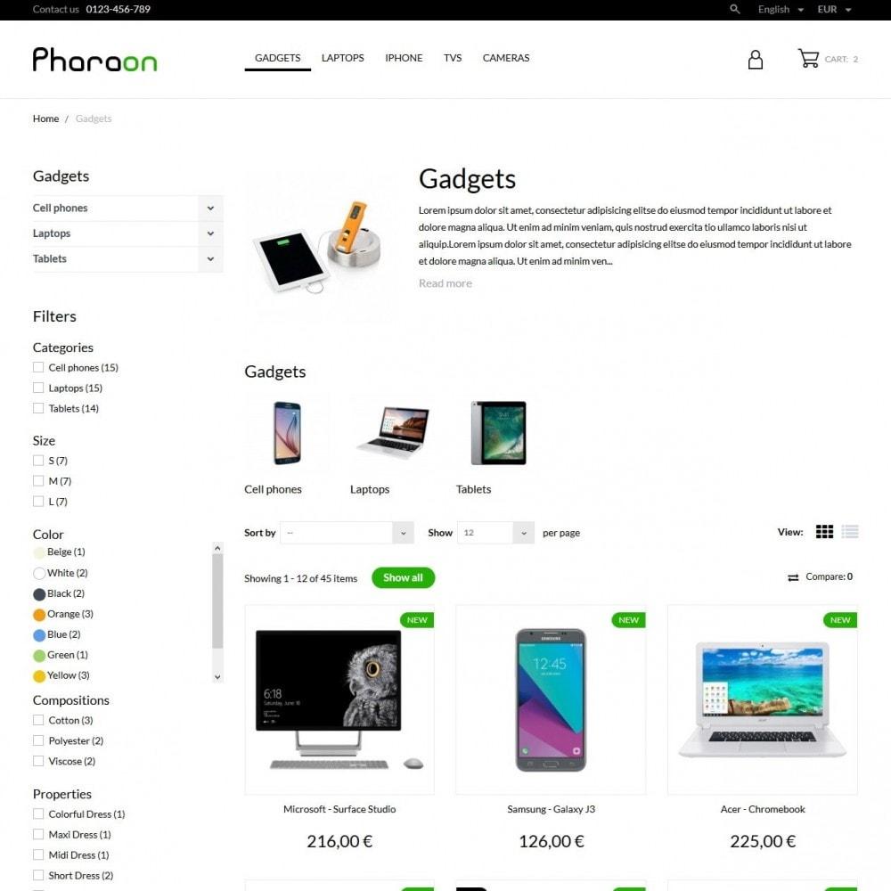 theme - Eletrônicos & High Tech - Pharaon - High-tech Shop - 5