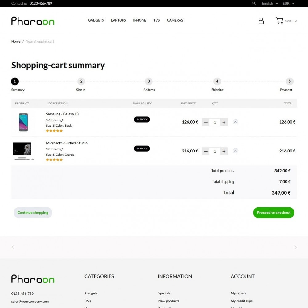 theme - Elektronica & High Tech - Pharaon - High-tech Shop - 7