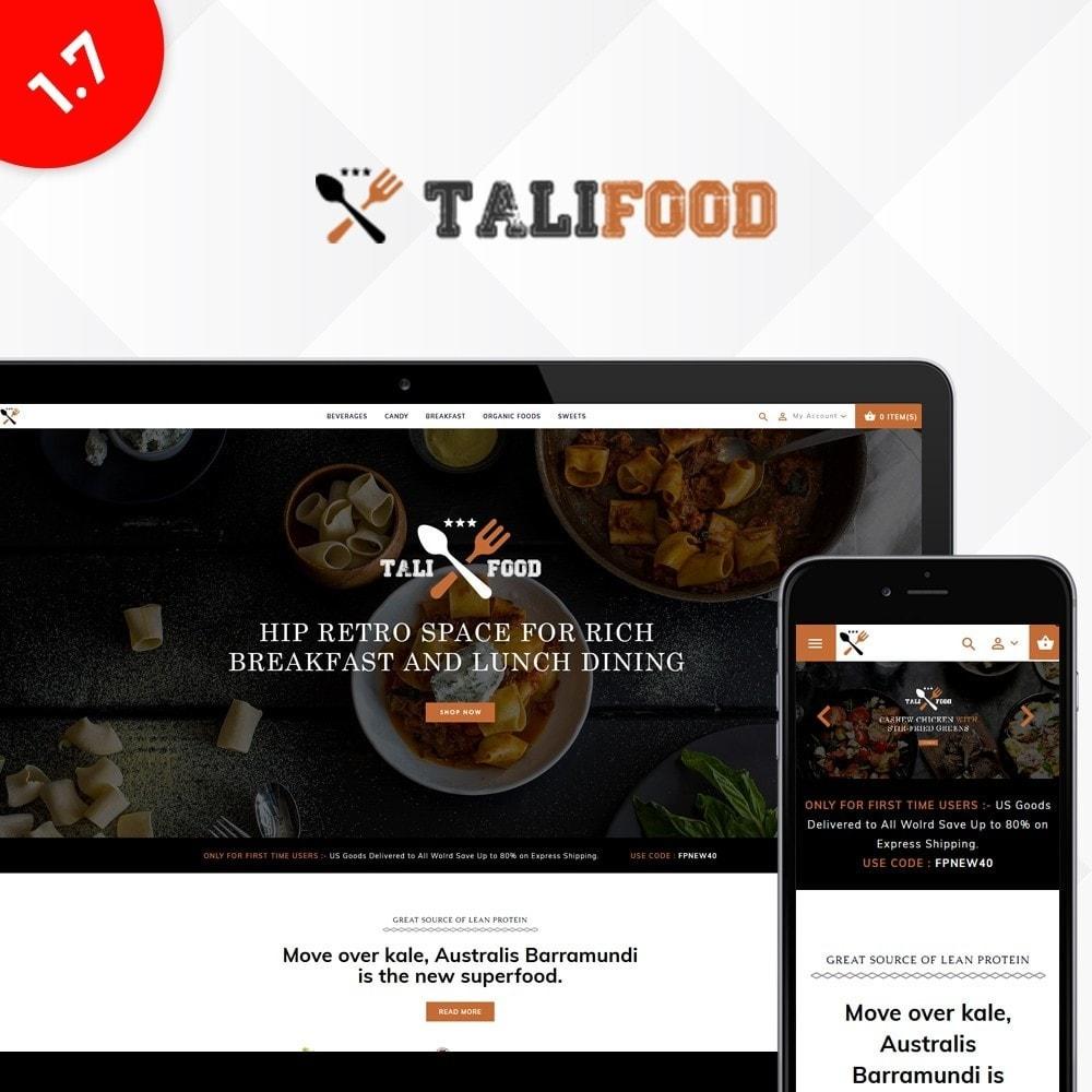 theme - Cibo & Ristorazione - Tali Food Store - 1