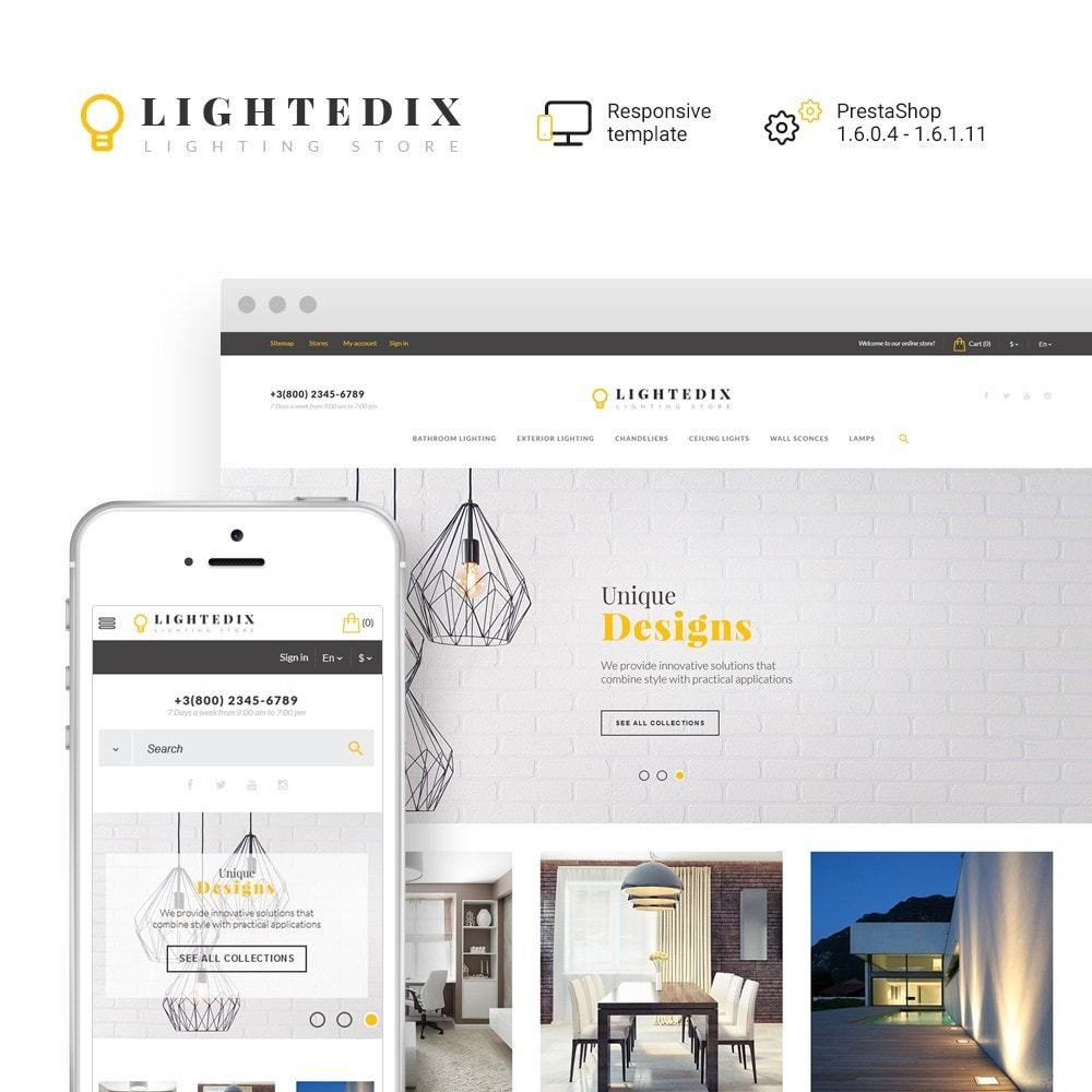 theme - Maison & Jardin - Lightedix - Lighting Store - 1