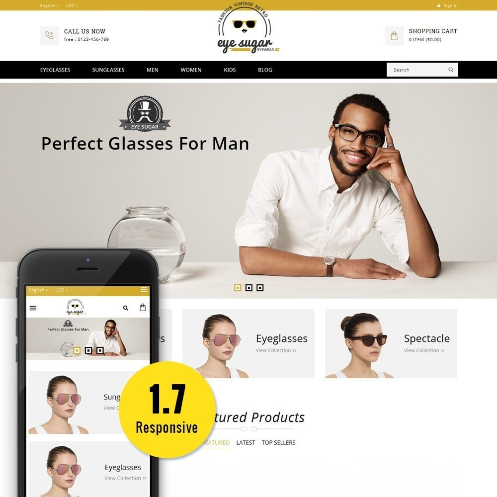 theme - Mode & Schoenen - EyeSugar Store - 1