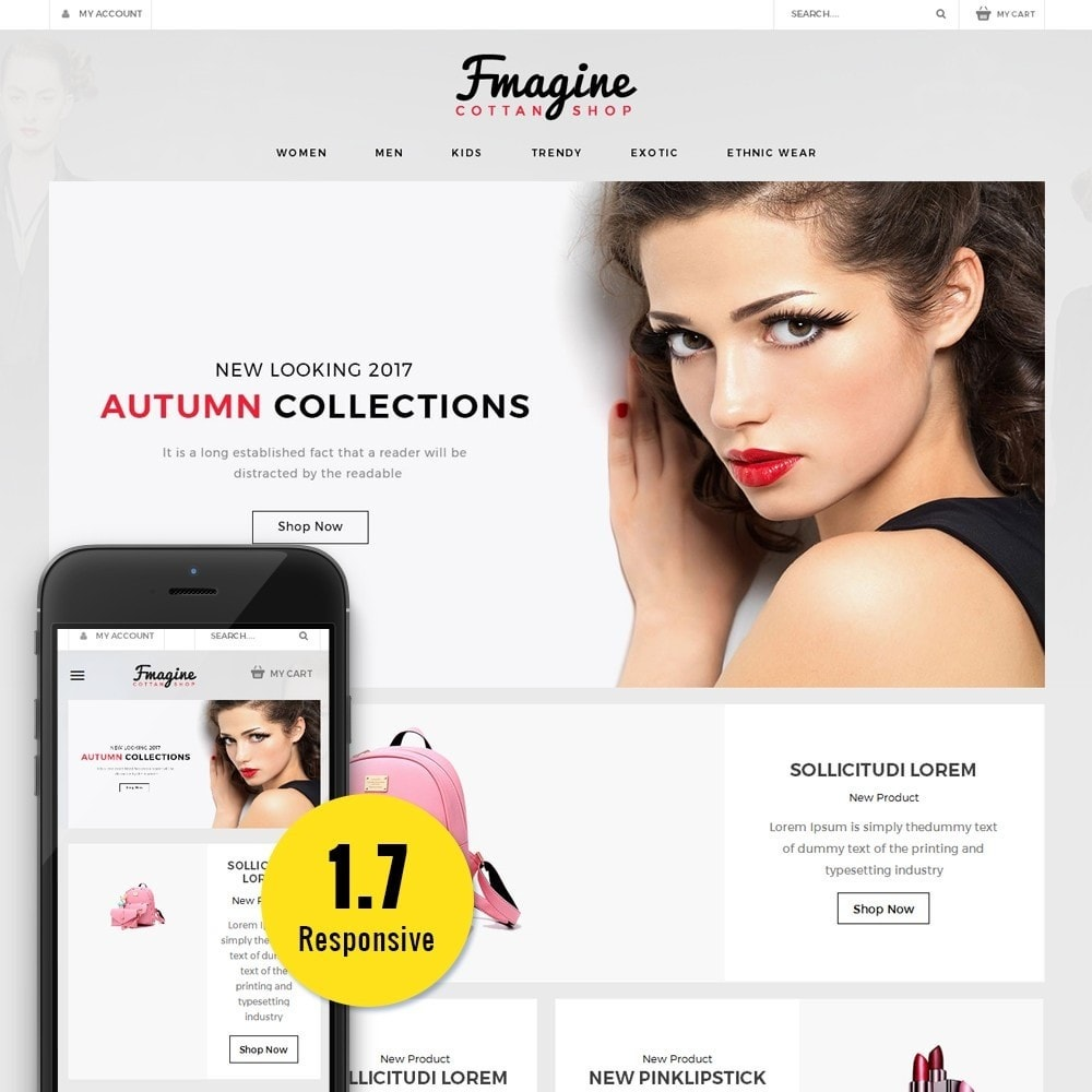 theme - Mode & Chaussures - Fmagine Store - 1