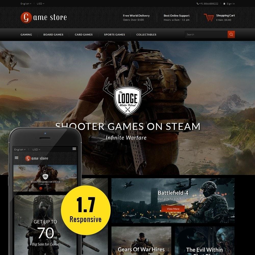 theme - Deportes, Actividades y Viajes - GameStore - 1