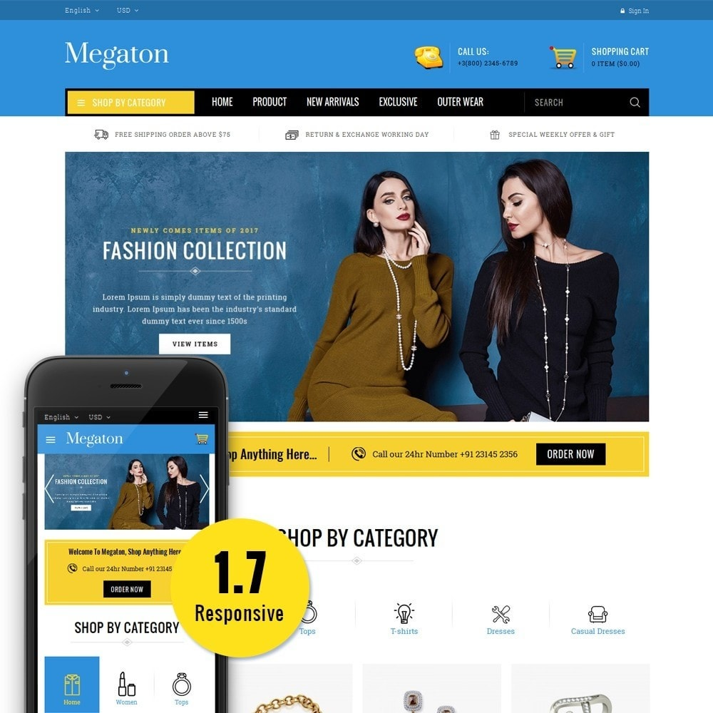 theme - Electronique & High Tech - Megaton Store - 1