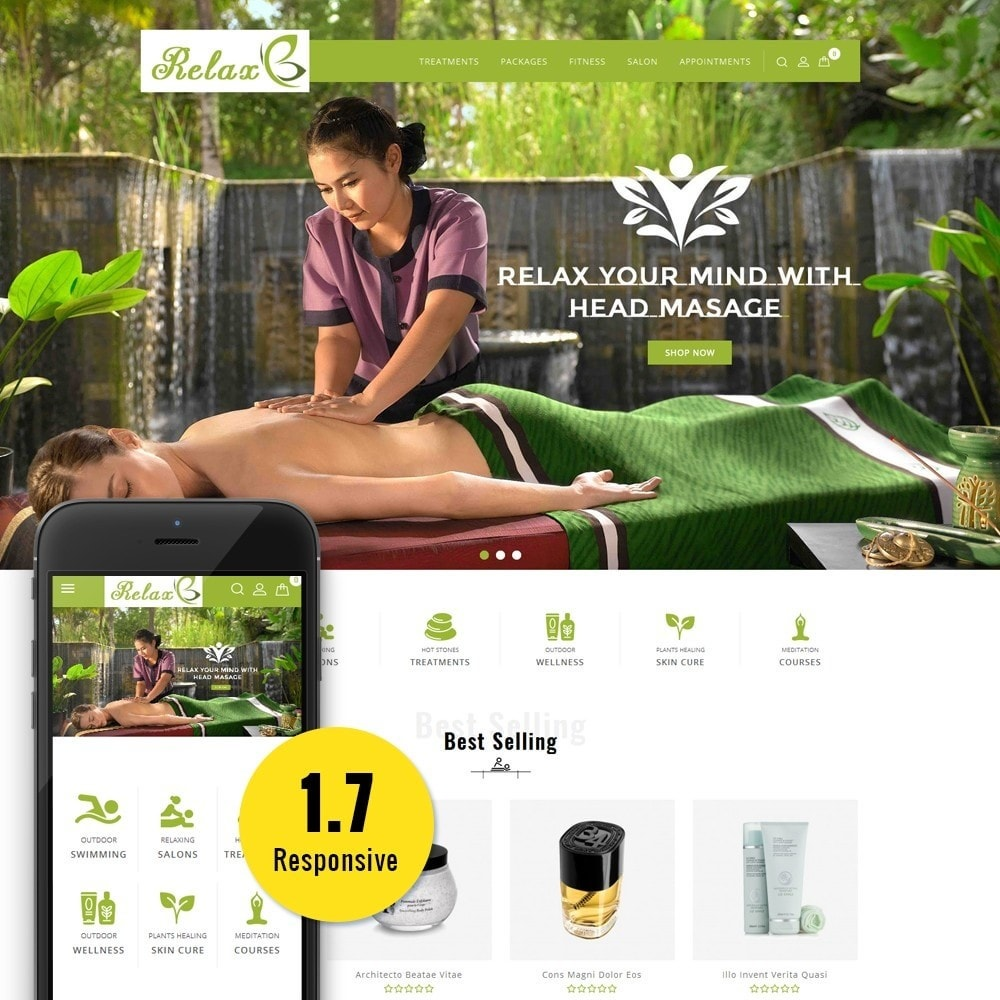 theme - Health & Beauty - Relax Spa Store - 1