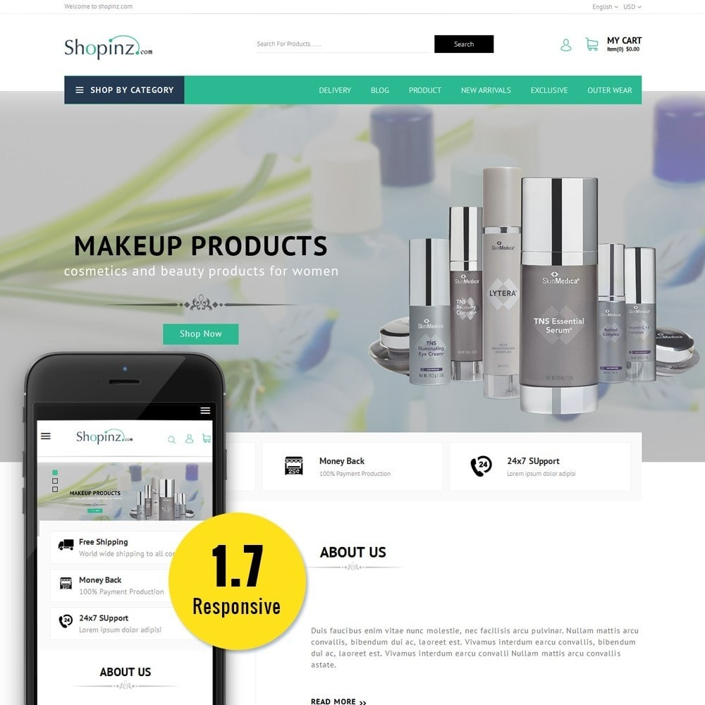 theme - Mode & Chaussures - Shopinz MultiStore - 1