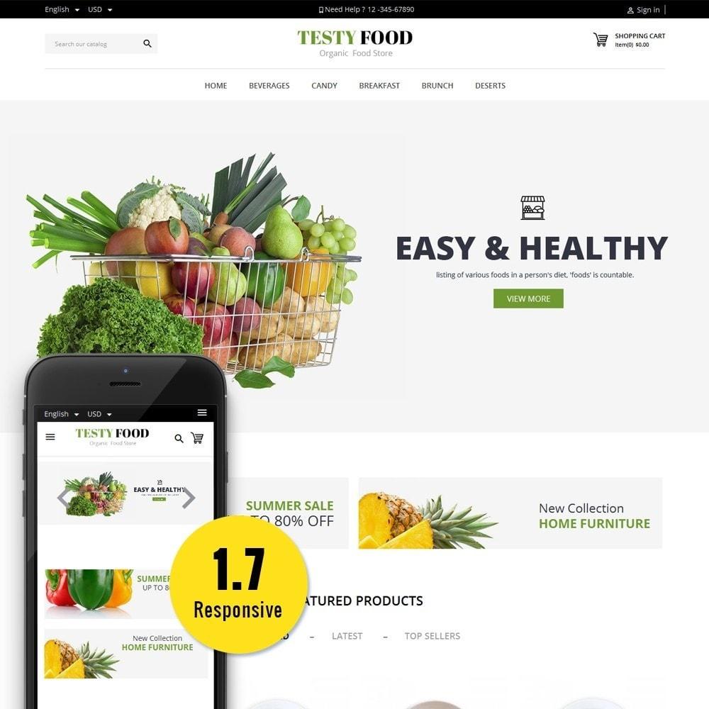 theme - Eten & Restaurant - TestyFood - 1