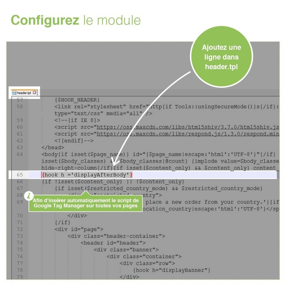 module - Analyses & Statistiques - Google Tag Manager - PRO - 3
