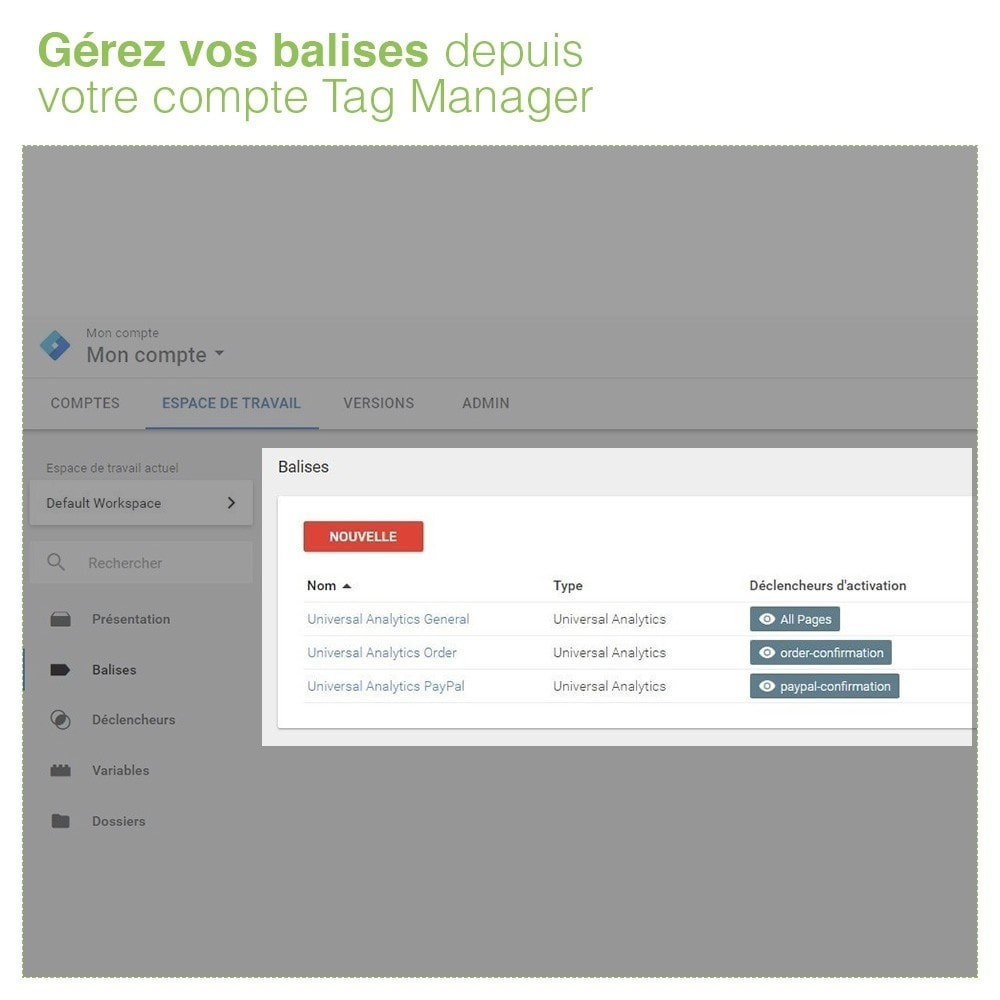 module - Analyses & Statistiques - Google Tag Manager - PRO - 5