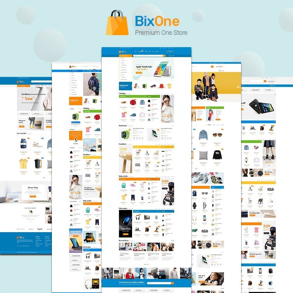 theme - Moda & Calzature - Pts Bixone - 1