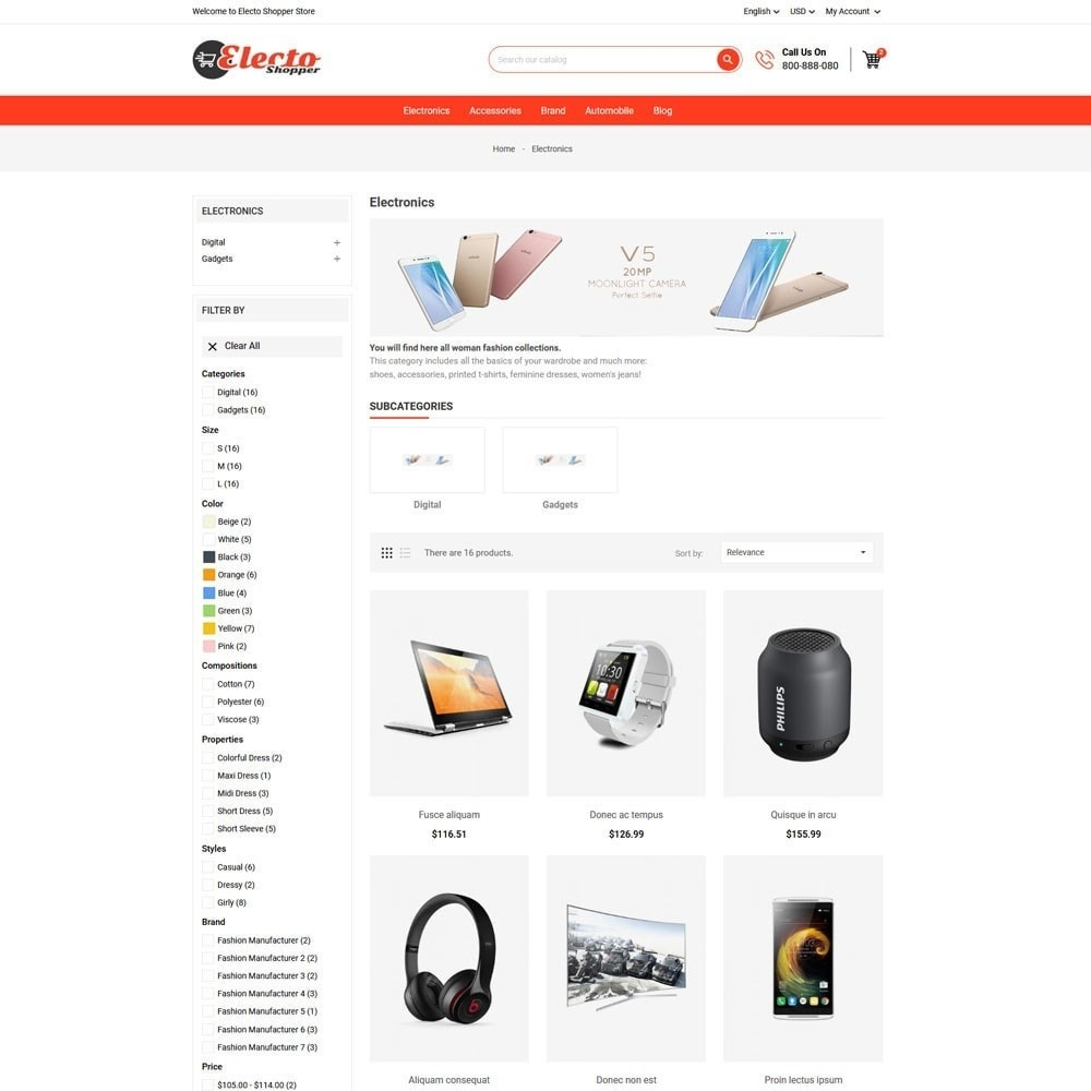 theme - Electronique & High Tech - Electo Shopper Store - 3