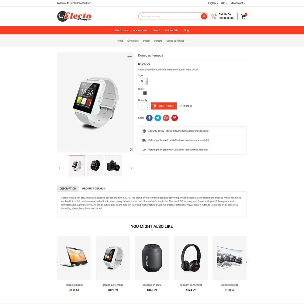 theme - Electronique & High Tech - Electo Shopper Store - 5