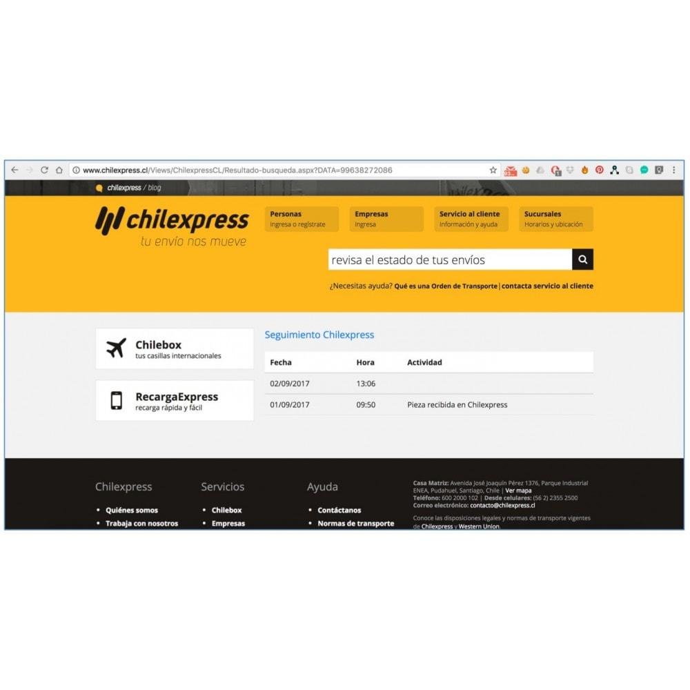 module - Transportistas - Chilexpress Zonas, Costos y Generación de OT - 9