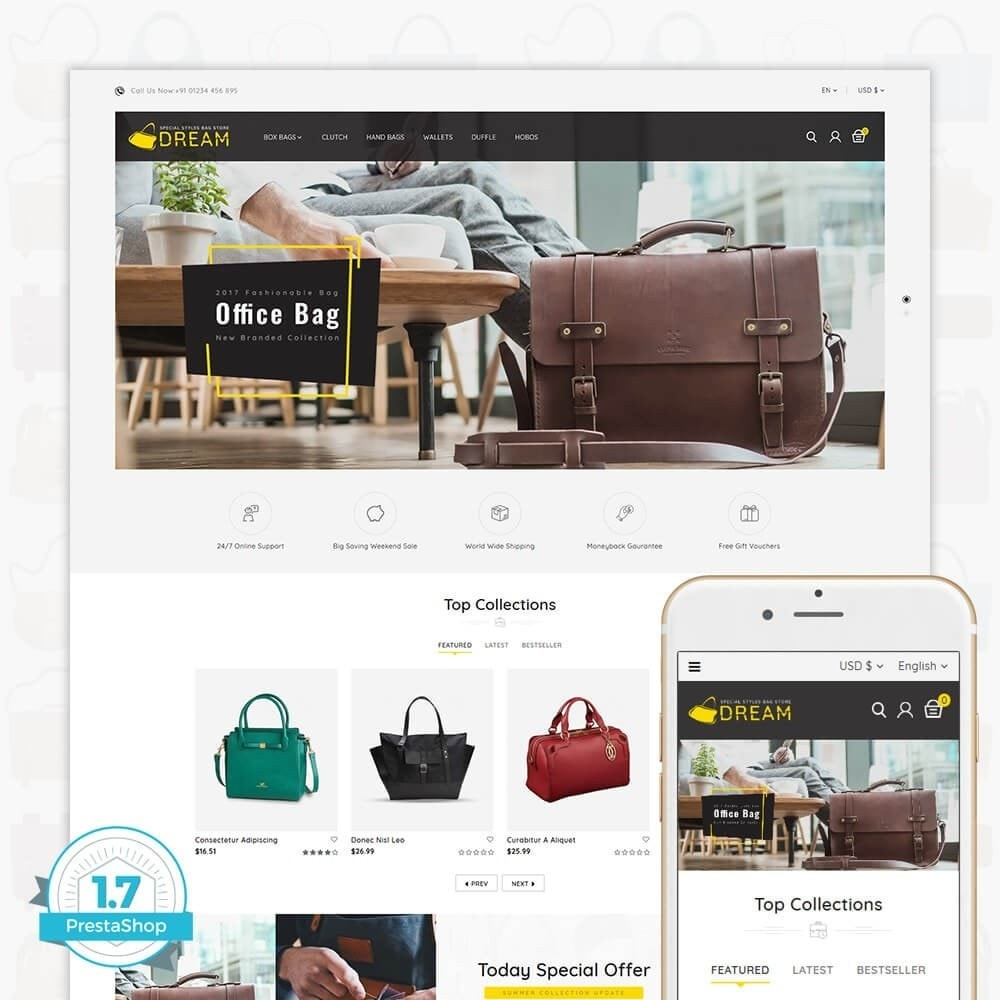 theme - Sport, Loisirs & Voyage - Dream Bag Store - 1