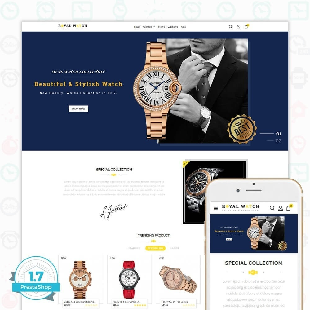 theme - Elektronika & High Tech - Royal Watch - The Special Watch Store - 1