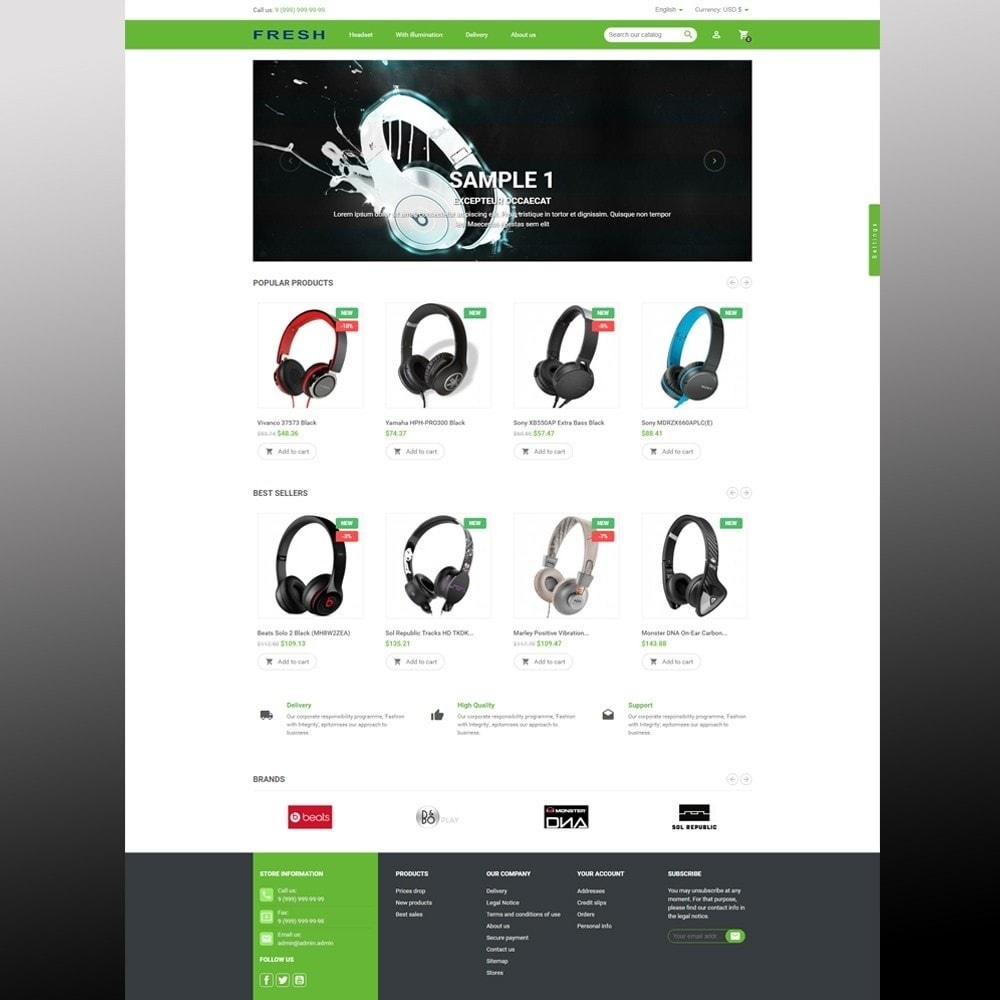 theme - Elektronik & High Tech - Fast Fresh electronics store - 12