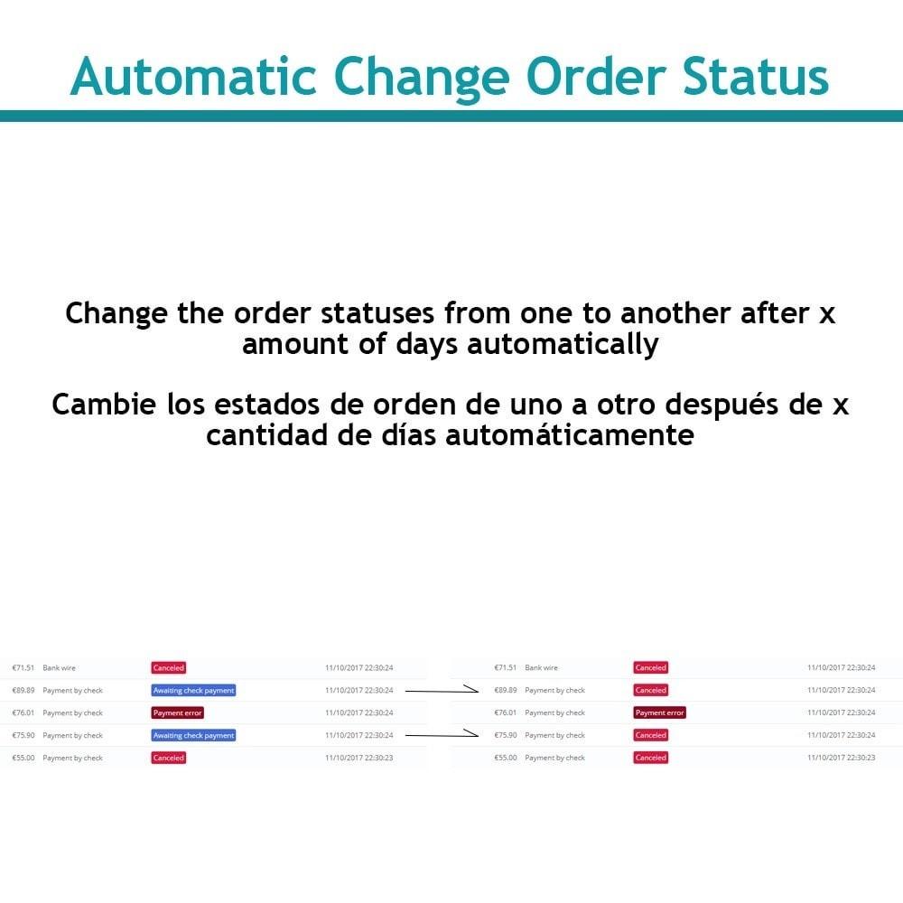 module - Управление заказами - Change order status automatically - 1