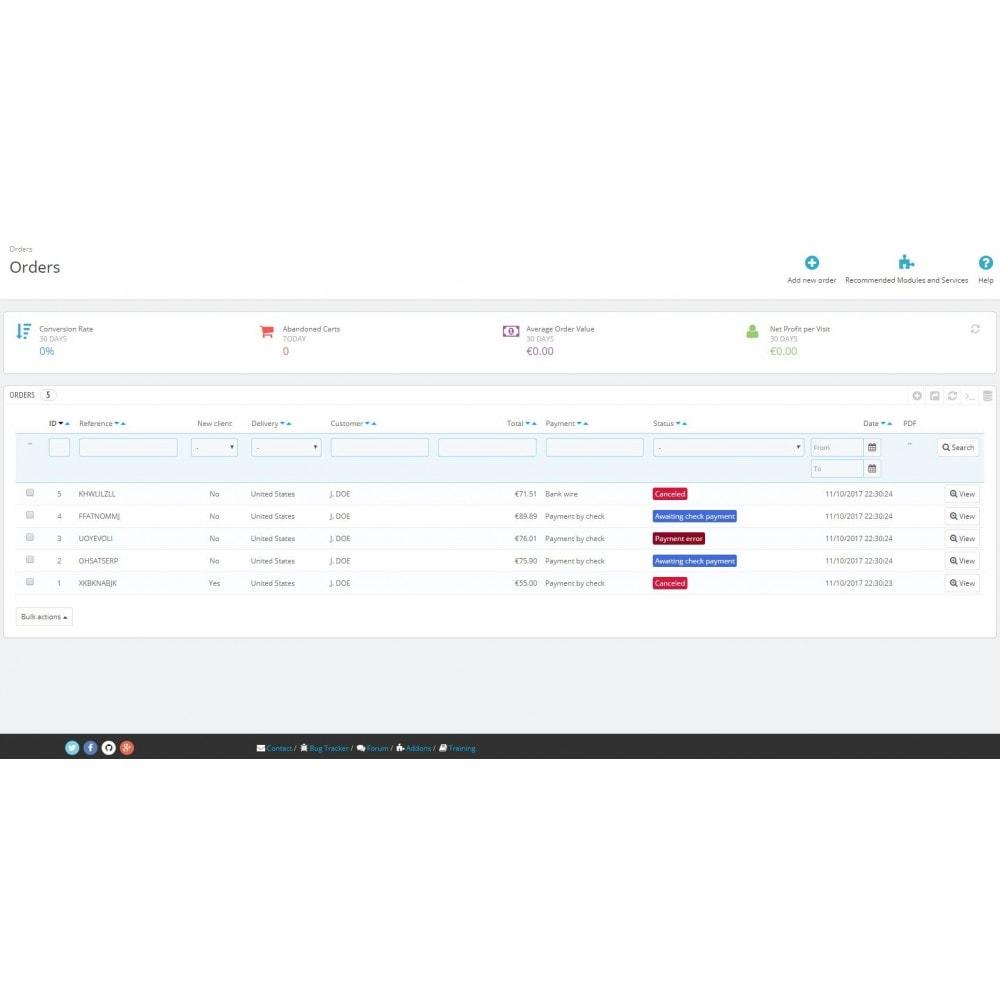 module - Управление заказами - Change order status automatically - 3