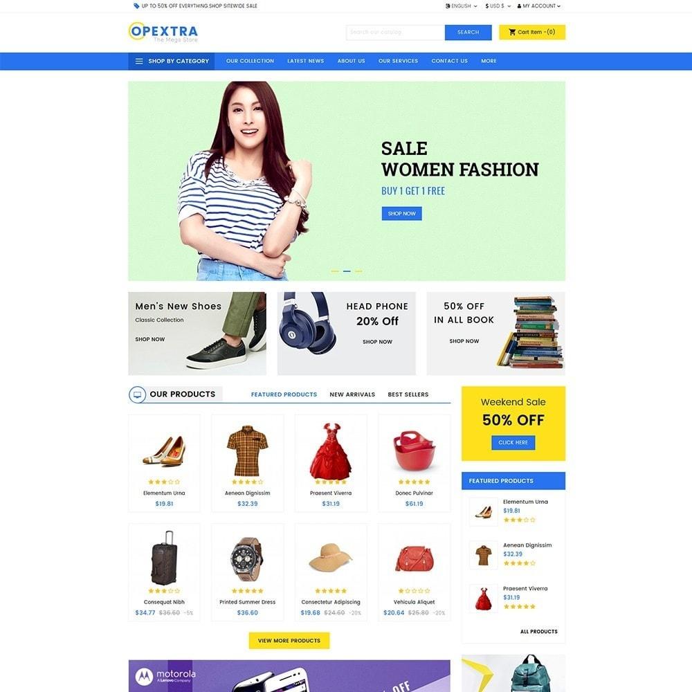 theme - Moda y Calzado - Opextra Mega Store - 2