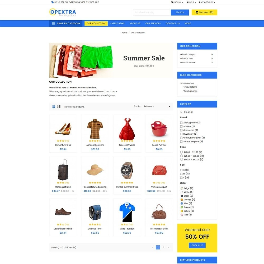 theme - Moda y Calzado - Opextra Mega Store - 3