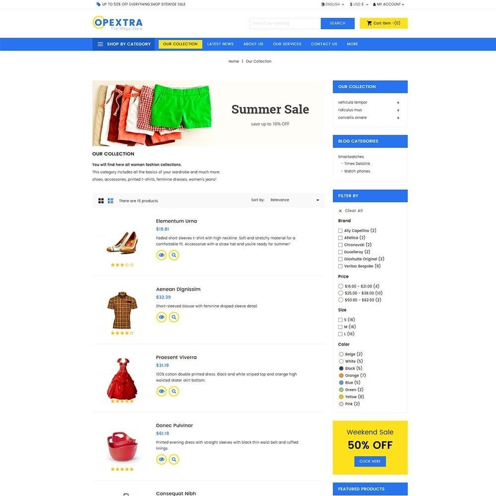 theme - Moda y Calzado - Opextra Mega Store - 4