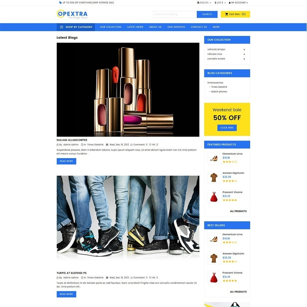 theme - Mode & Schuhe - Opextra Mega Store - 5