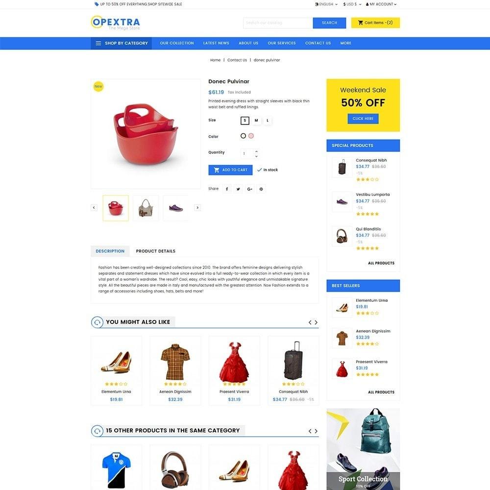 theme - Mode & Schuhe - Opextra Mega Store - 6