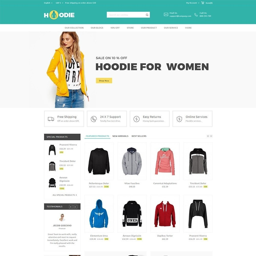 theme - Mode & Schuhe - Hoodie Fashion Store - 2