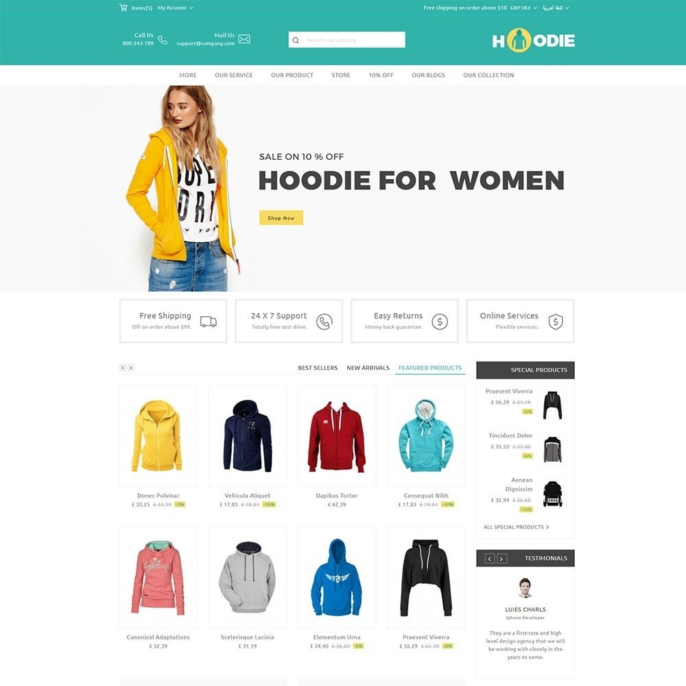 theme - Mode & Schuhe - Hoodie Fashion Store - 7