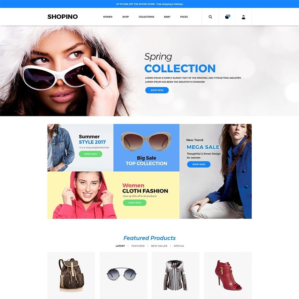 theme - Mode & Schoenen - Shopimo Fashion Store - 2