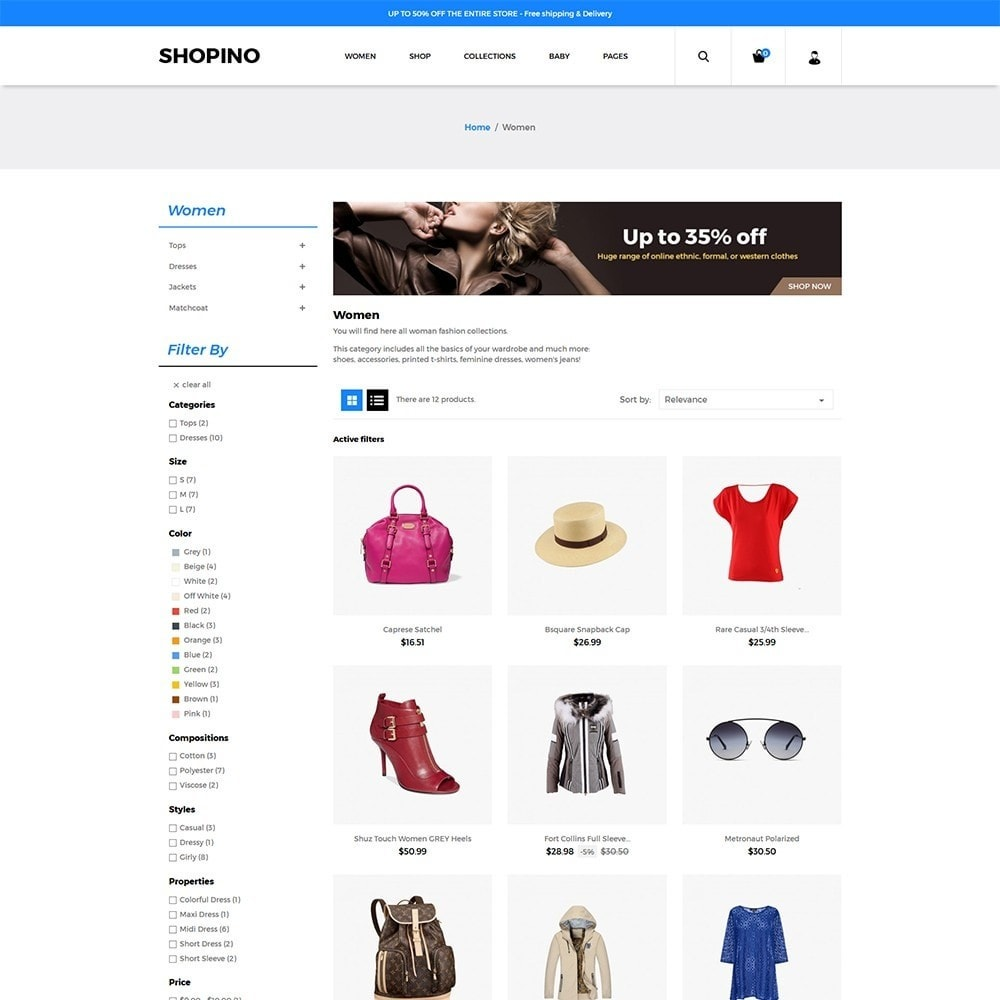 theme - Mode & Schoenen - Shopimo Fashion Store - 3