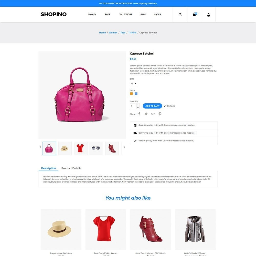 theme - Mode & Chaussures - Shopimo Fashion Store - 4