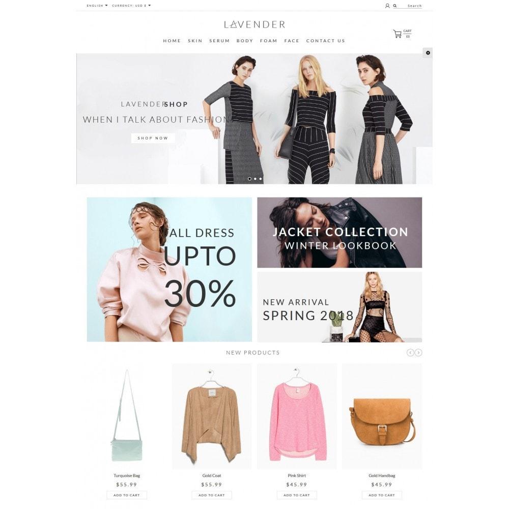theme - Fashion & Shoes - Lavender Fashion Store - 2