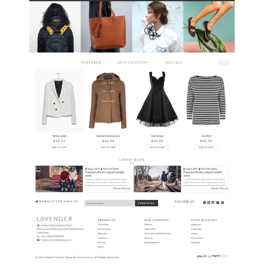 theme - Fashion & Shoes - Lavender Fashion Store - 3