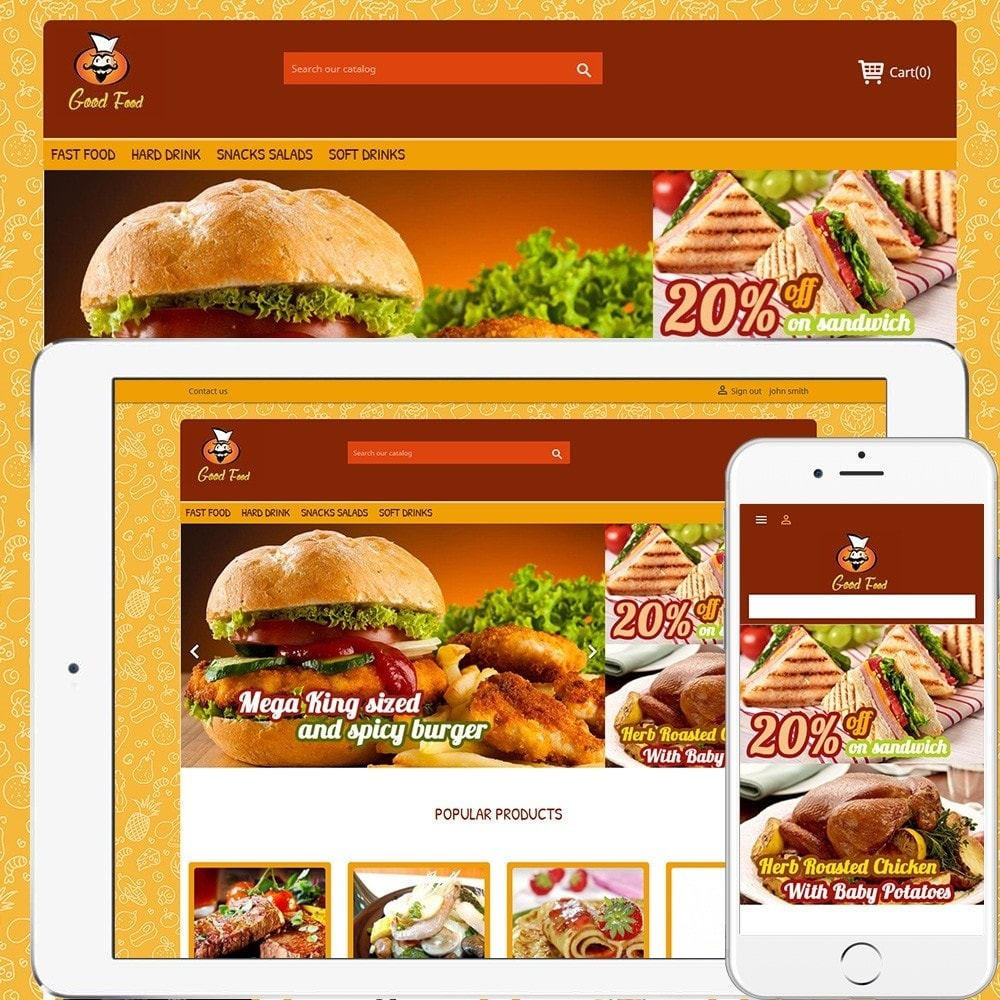 theme - Food & Restaurant - Good Food 2.0 - 1