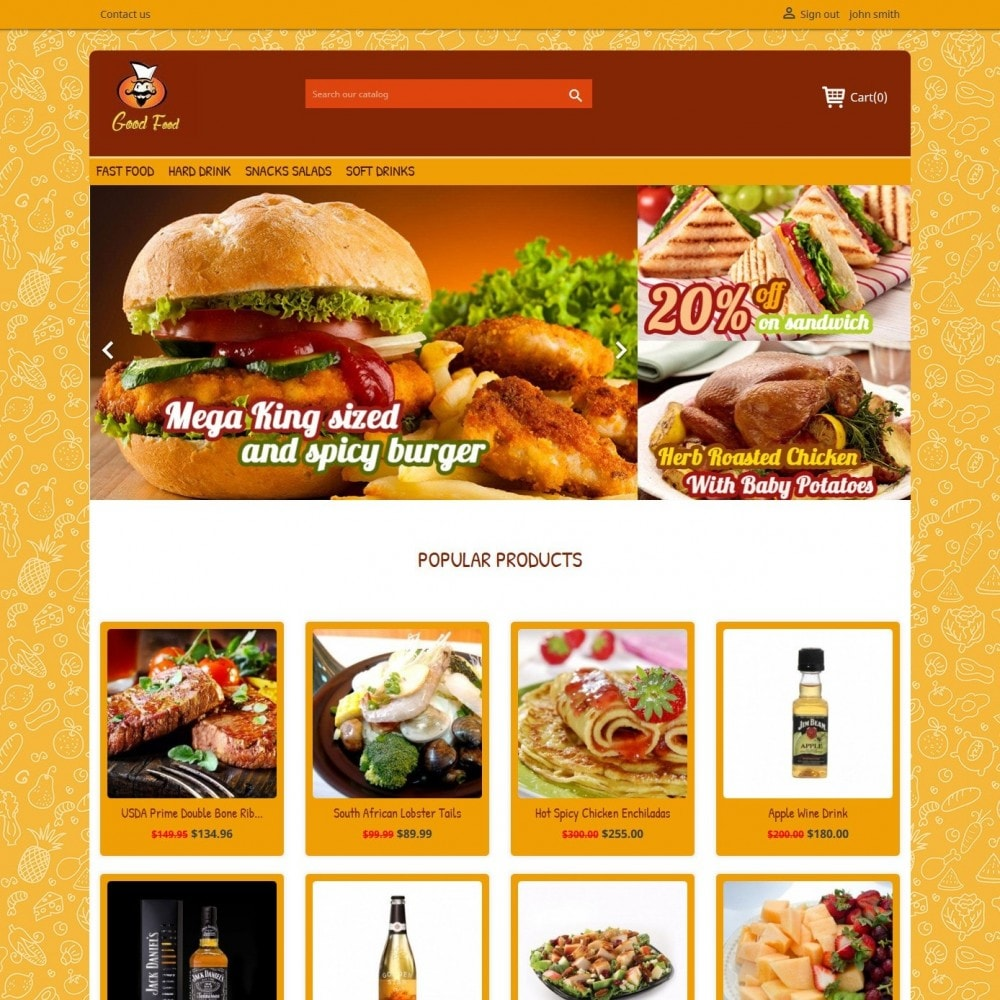 theme - Food & Restaurant - Good Food 2.0 - 2