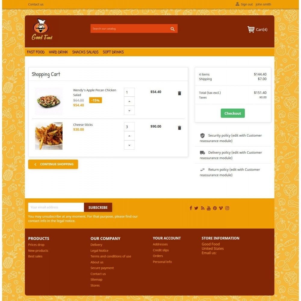 theme - Food & Restaurant - Good Food 2.0 - 5